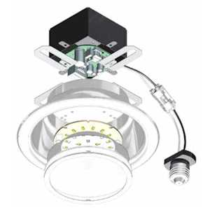 "PHILIPS CP430K6 4"" CorePro LED Retrofit Downlight, 600 Lumens, 30K CCT, 120V. Dimmable with Compatible Dimmers"