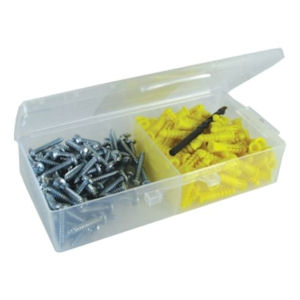 "Dottie 2AK 10 x 1"" Sheet Metal Screw Anchor Kit (100/Box)"