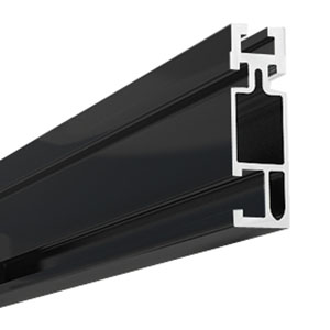 UNIRAC 310168D SolarMount Rail - Dark Finish