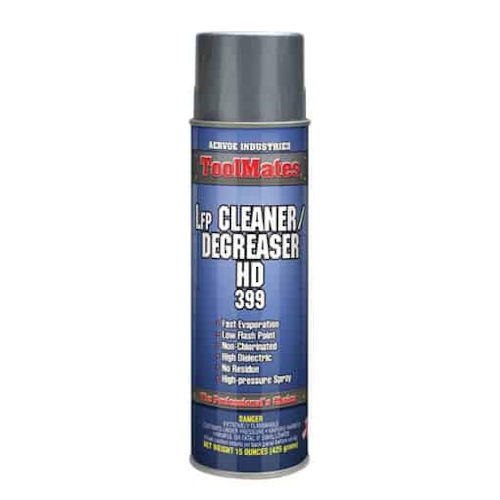 Aervoe 399 Lfp Cleaner/Degreaser, Low Flash Point, H.D.(F), 20oz