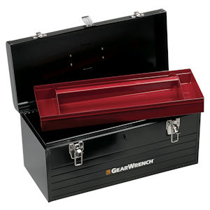 "GearWrench 83130 Toolbox 19"" w/Tote Tray - Steel"