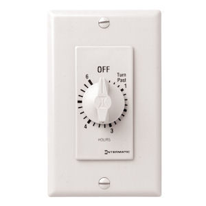 Intermatic FD6HW 6 Hours Auto-Off Springwound Timer