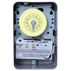 Intermatic T101 40A, 125V 24 Hour Heavy Duty Indoor Time Switch