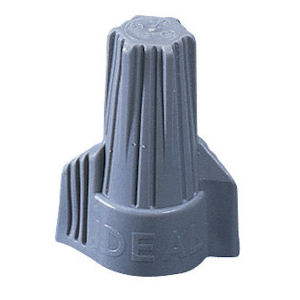 Ideal 30-642 3#14 to 4#10 Gray Twister Wire Connector