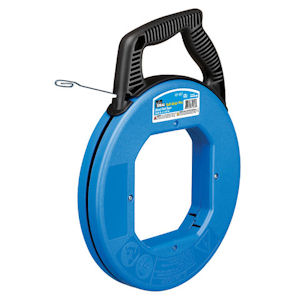 "Ideal 31-057 Tuff-Grip™ Pro Blued-Steel™ Fish Tape w/ Formed Hook End, 240' x 1/8"" x .060"""