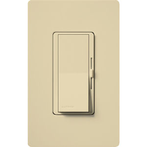 Lutron DVCL-153P-IV 3-Way/Single-Pole CFL/LED DIVA Dimmer - Ivory