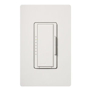 Lutron MA-600-WH Multi-Location 600W Incandescent/Halogen MAESTRO Digital Fade Dimmer - White