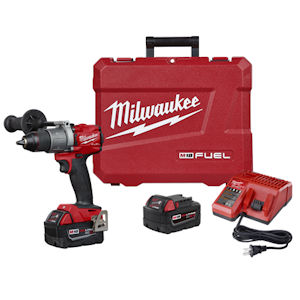 "Milwaukee 2804-22 M18 FUEL 1/2"" Hammer Drill/Driver Kit"