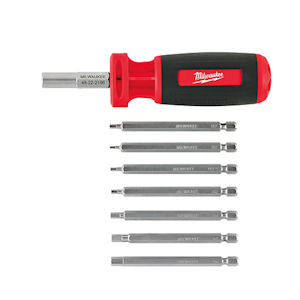 Milwaukee 48-22-2106  10-in-1 Metric HEX Multi-Bit Driver