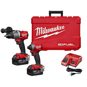 Milwaukee 2997-22 M18 FUEL™ 2-Tool Hammer Drill / Impact Driver Combo Kit