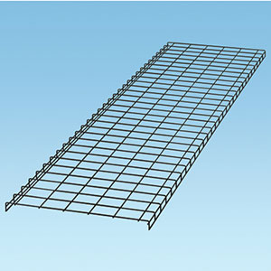 "Panduit WG30BL10 Wyr-Grid Pathway, 30"" W x 10' L, Black Powder Coated"