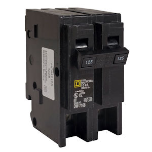 Square-D HOM2200 Homeline Miniature Circuit Breaker 200A 120/240V 2P , Plug-On