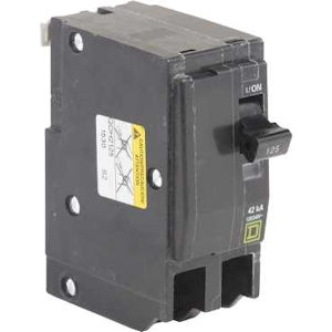 Square-D QOH2125 Miniature Circuit Breaker 125A 120/240V 3Ph 2P , Plug-On