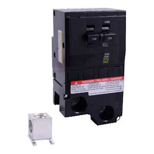 Square-D QO2200 Miniature Circuit Breaker 200A 120/240V 2P , Plug-In